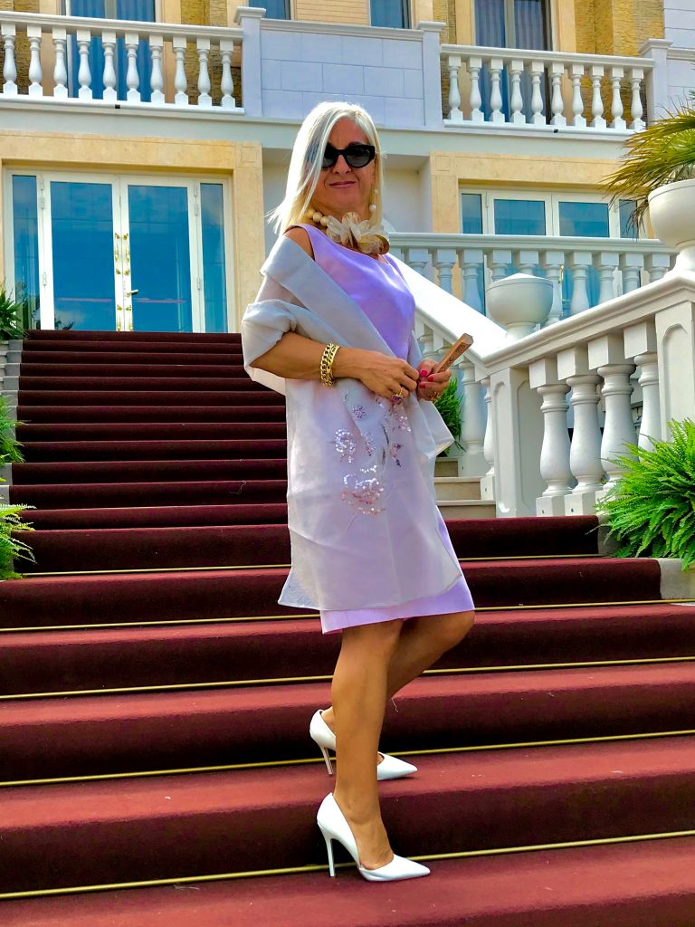 eleganza outfit rosa