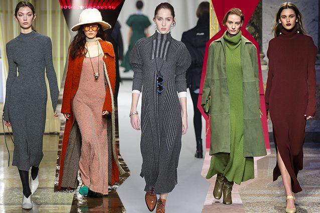 Abiti In Maglia: Caldi E Avvolgenti - Il Blog Di Rita Candida Fashiontrends - Knit Dress