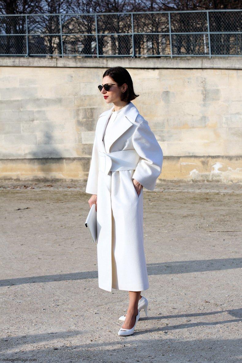 Bianco in inverno: come indossarlo