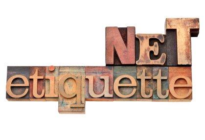 NETIQUETTE: BON TON DIGITALE